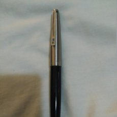Plumas estilográficas antiguas: ESTILOGRAFICA INOXCROM 77 AZUL Y ACERO. Lote 102566431