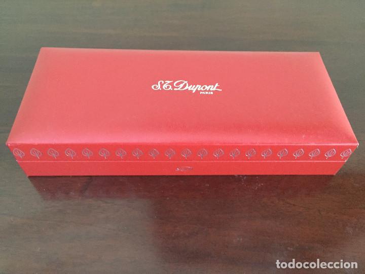 Plumas estilográficas antiguas: Pluma Estilográfica ST Dupont Serie Vertigo I - Foto 2 - 102948559