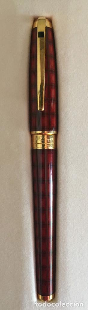 Plumas estilográficas antiguas: Pluma Estilográfica ST Dupont Serie Vertigo I - Foto 3 - 102948559