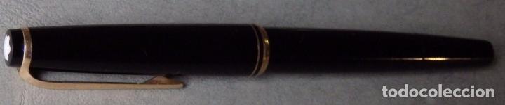 Plumas estilográficas antiguas: PLUMA ESTILOGRAFICA MONTBLANC 22 BUEN ESTADO CON PLUMIN 14C 585 - Foto 8 - 105825663