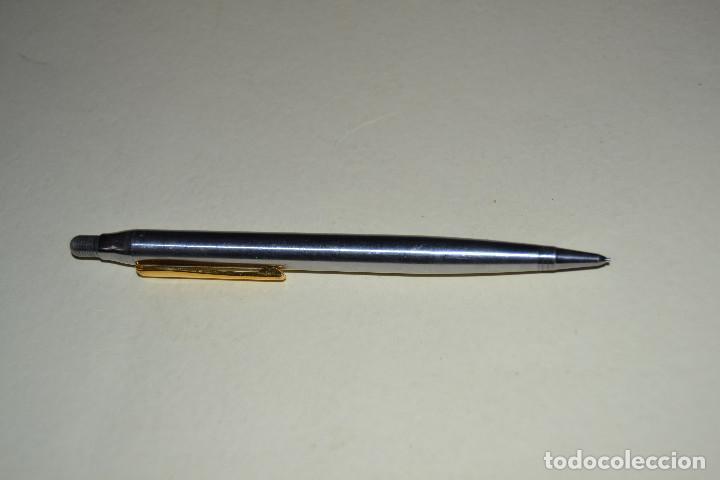 Plumas estilográficas antiguas: PORTAMINAS INOXCRON DE METAL - Foto 2 - 106071283