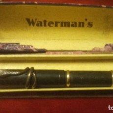 Plumas estilográficas antiguas: WATERMANS REG US IDEAL PAT.OFE FOUNTAIN PEN. Lote 106769735