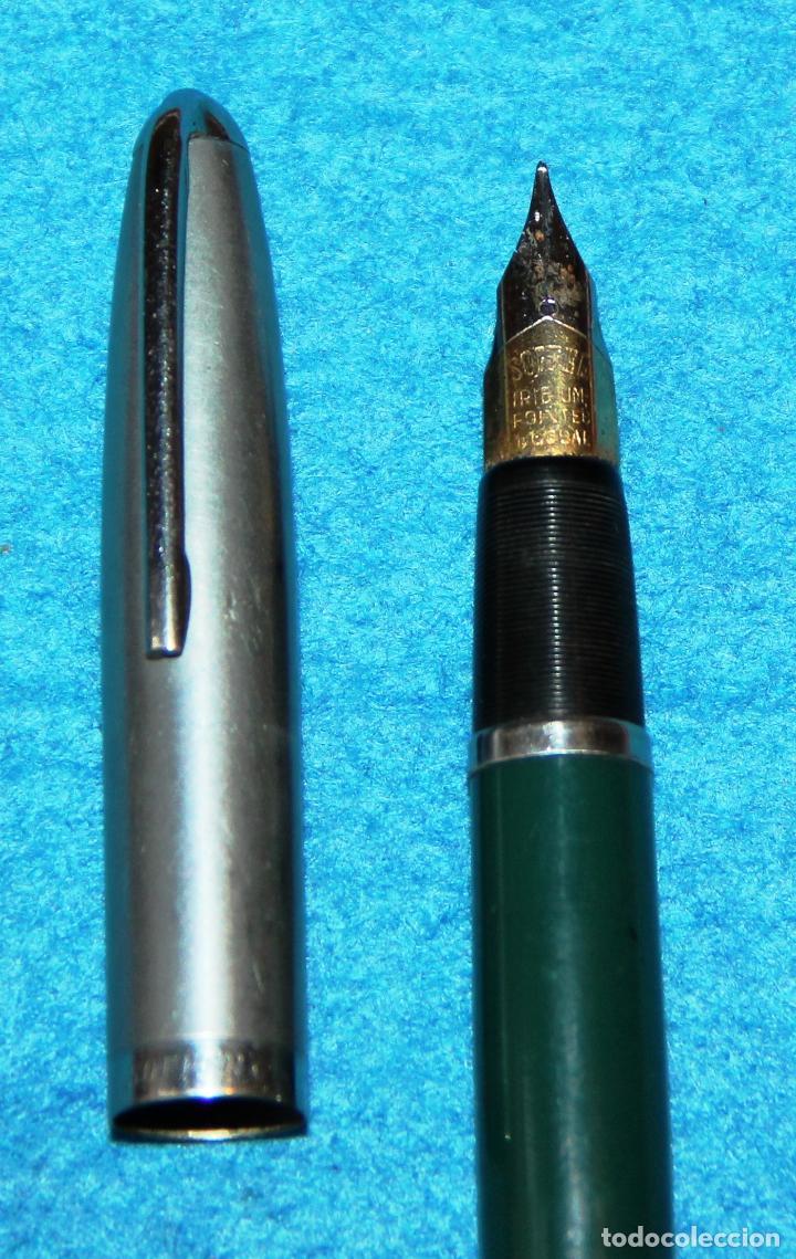 Plumas estilográficas antiguas: ANTIGUA PLUMA ESTILOGRAFICA SOFFER * - Foto 4 - 106800663