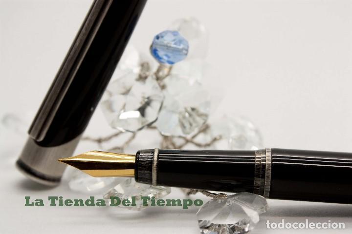 Plumas estilográficas antiguas: PLUMA ESTILOGRAFICA DE DISEÑO 1990 - Foto 2 - 109080535