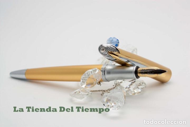 Plumas estilográficas antiguas: PLUMA ESTILOGRAFICA DE DISEÑO 1990 - Foto 7 - 109083355