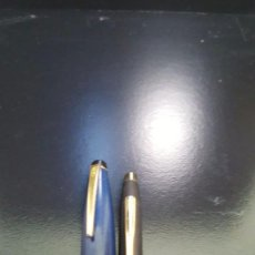 Plumas estilográficas antiguas: PAREJA PLUMA Y BOLÍGRAFO CRROSS . Lote 109277243