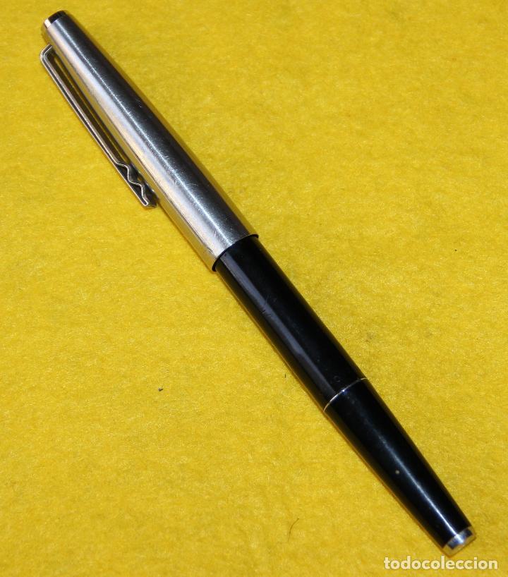 Plumas estilográficas antiguas: ANTIGUA PLUMA ESTILOGRAFICA SUPER T OLIMPIA - COLECCIONISTAS - Foto 2 - 109333983
