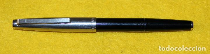 Plumas estilográficas antiguas: ANTIGUA PLUMA ESTILOGRAFICA SUPER T OLIMPIA - COLECCIONISTAS - Foto 3 - 109333983