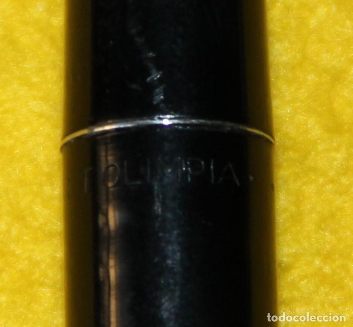 Plumas estilográficas antiguas: ANTIGUA PLUMA ESTILOGRAFICA SUPER T OLIMPIA - COLECCIONISTAS - Foto 6 - 109333983