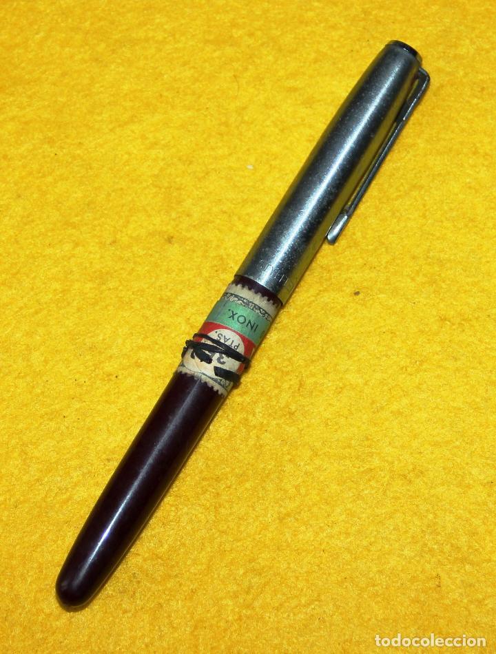 Plumas estilográficas antiguas: ANTIGUA PLUMA ESTILOGRAFICA STYLFLEX 400 JUNIOR - Foto 3 - 110044807
