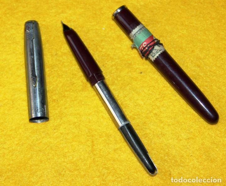 Plumas estilográficas antiguas: ANTIGUA PLUMA ESTILOGRAFICA STYLFLEX 400 JUNIOR - Foto 5 - 110044807