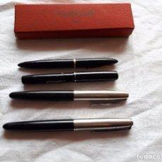 Plumas estilográficas antiguas: LOTE DE 5 PLUMAS.. Lote 110721535