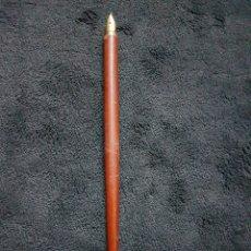 Plumas estilográficas antiguas: ANTIGUA PLUMA CON PLUMIN 14 KILATES ORO. Lote 110814596