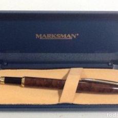 Plumas estilográficas antiguas: PLUMA MARKSMAN. Lote 111012846