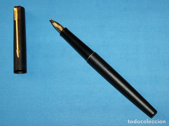 Plumas estilográficas antiguas: PLUMA ESTILOGRAFICA PARKER 15 BLACK - Foto 4 - 111364091
