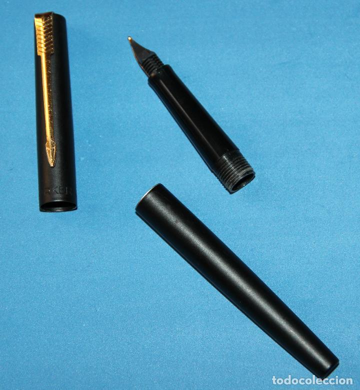 Plumas estilográficas antiguas: PLUMA ESTILOGRAFICA PARKER 15 BLACK - Foto 5 - 111364091