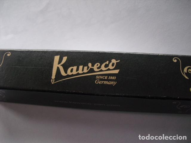 Plumas estilográficas antiguas: NUEVA ESTILOGRAFICA KAWECO SPORT. AZUL 10 CMS. - Foto 13 - 111507167