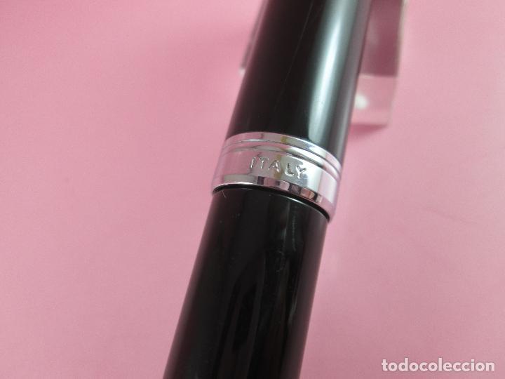 Plumas estilográficas antiguas: 853/pluma estilográfica-aurora talentum-italia-plumín oro original f 14 k-rodiado-perfecta-CAJA - Foto 18 - 111829855