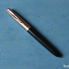 Plumas estilográficas antiguas: ANTIGUA PLUMA ESTILOGRAFICA INOXCROM 66 ORO AZUL. Lote 111986167