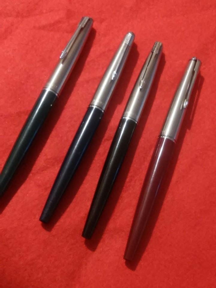 Plumas estilográficas antiguas: parker estilograficas plumas lote 4 antiguas - Foto 2 - 112146767