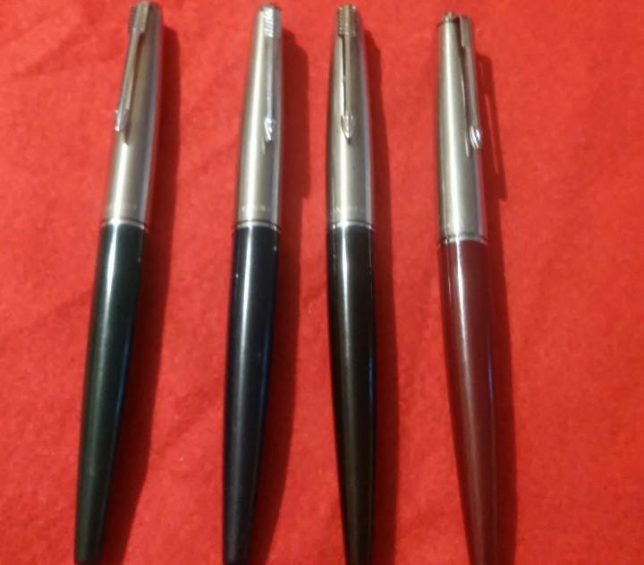 Plumas estilográficas antiguas: parker estilograficas plumas lote 4 antiguas - Foto 3 - 112146767