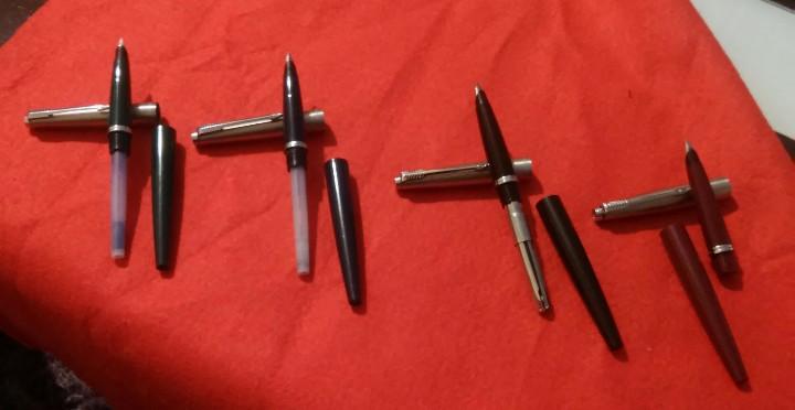 Plumas estilográficas antiguas: parker estilograficas plumas lote 4 antiguas - Foto 8 - 112146767