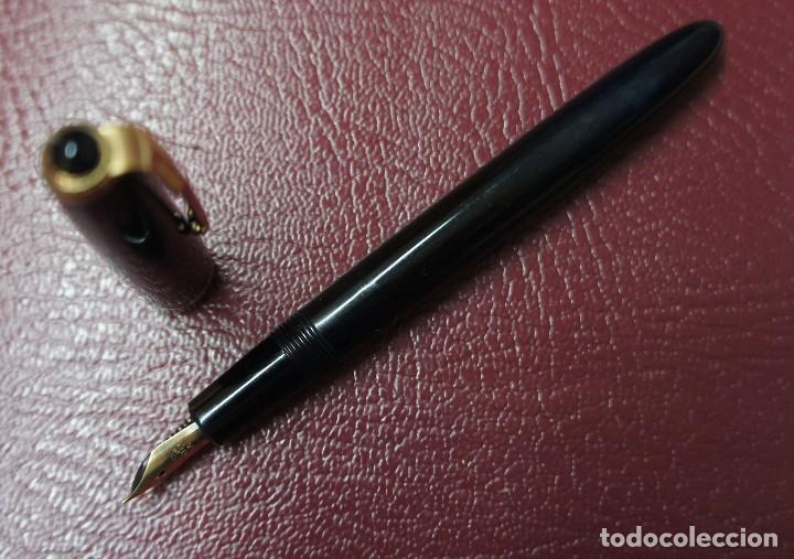 Plumas estilográficas antiguas: ESTILOGRÁFICA PARKER CON PLUMÍN WARRANTED 14K ,MIDE 12,5 cm. - Foto 2 - 113812391