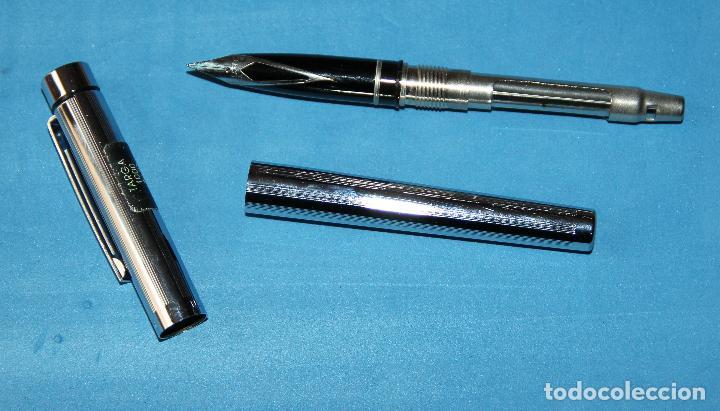 Plumas estilográficas antiguas: PLUMA ESTILOGRAFICA SHEAFFER TARGA 1000 - Foto 3 - 115577015