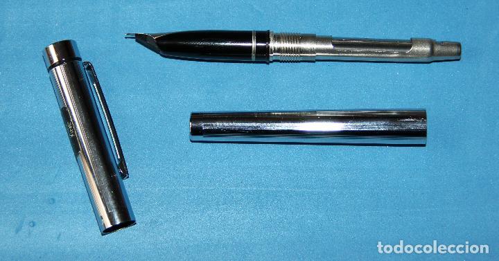 Plumas estilográficas antiguas: PLUMA ESTILOGRAFICA SHEAFFER TARGA 1000 - Foto 4 - 115577015