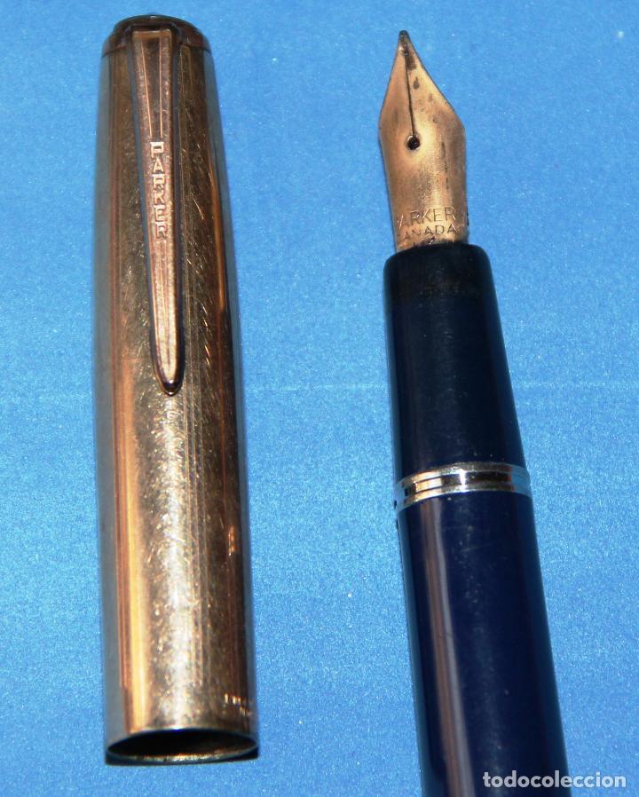 Plumas estilográficas antiguas: ANTIGUA PLUMA ESTILOGRAFICA PARKER VS (Vacumatic Successor) - Foto 3 - 115913795