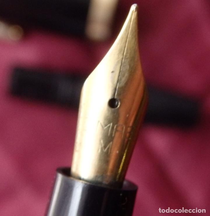 Plumas estilográficas antiguas: PLUMA ESTILOGRAFICA OMAS STUDIO BREV. 4049/653209 - Foto 6 - 161083393