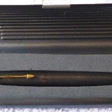Plumas estilográficas antiguas: PL-402. PLUMA PARKER STERLING CAP&BARREL. USA. PLUMIN ORO 14 K. CON ESTUCHE.. Lote 118108875