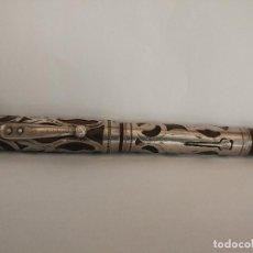 Plumas estilográficas antiguas: WATERMANS IDEAL CLIP CAP FILIGRANA PLATA STERLING 14 CTMS AÑOS 20. Lote 118906563