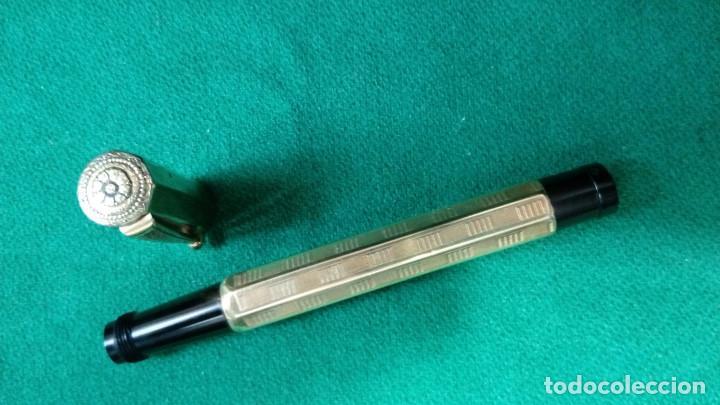 Plumas estilográficas antiguas: Fendrograph 18Kr Safety cuentagotas. Retractil - Foto 5 - 119459887