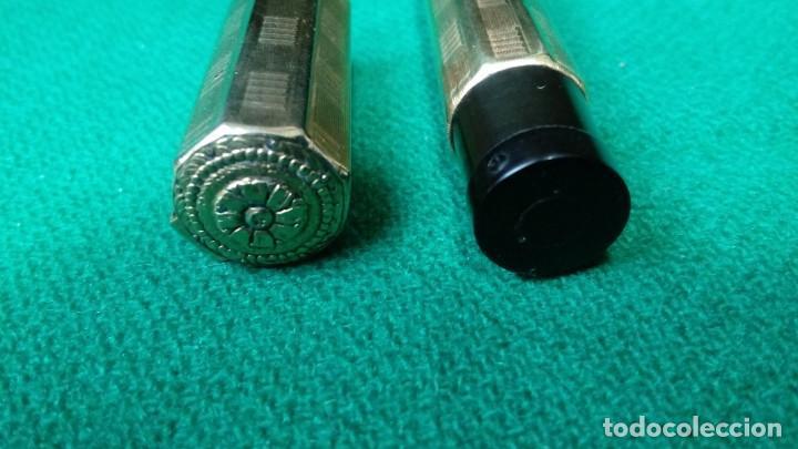 Plumas estilográficas antiguas: Fendrograph 18Kr Safety cuentagotas. Retractil - Foto 6 - 119459887