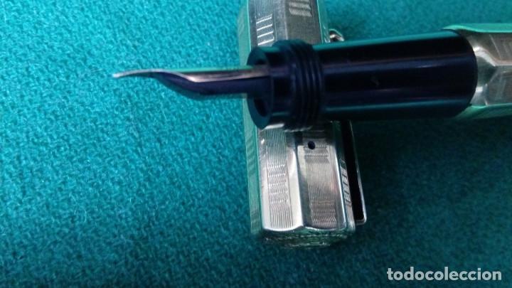Plumas estilográficas antiguas: Fendrograph 18Kr Safety cuentagotas. Retractil - Foto 10 - 119459887