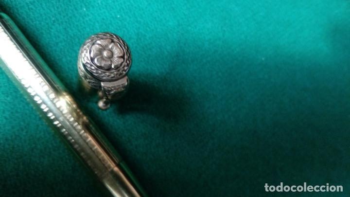 Plumas estilográficas antiguas: Antigua Cora 18kr retractil, cuentagotas. Safety - Foto 13 - 119461923