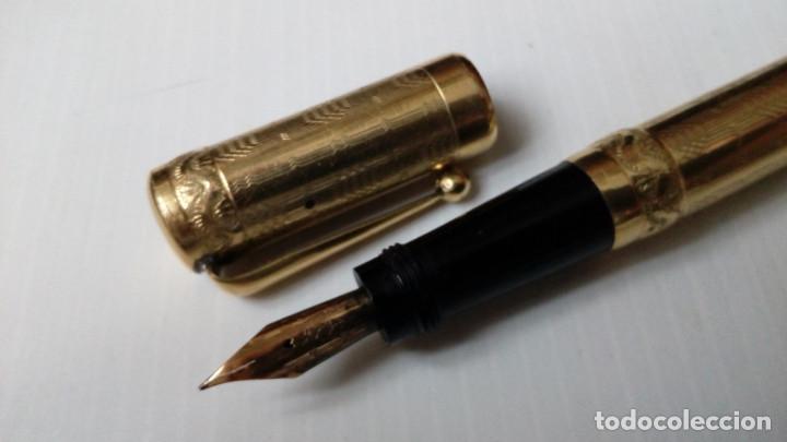 Plumas estilográficas antiguas: Magic Pen. 18Kr. por Montegrappa.. - Foto 2 - 120425187