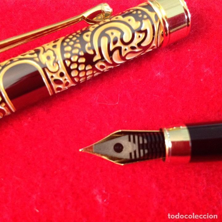 Plumas estilográficas antiguas: Pluma estilográfica Vaccaro, buen ejemplar, ver fotos, con carga. - Foto 5 - 202739577