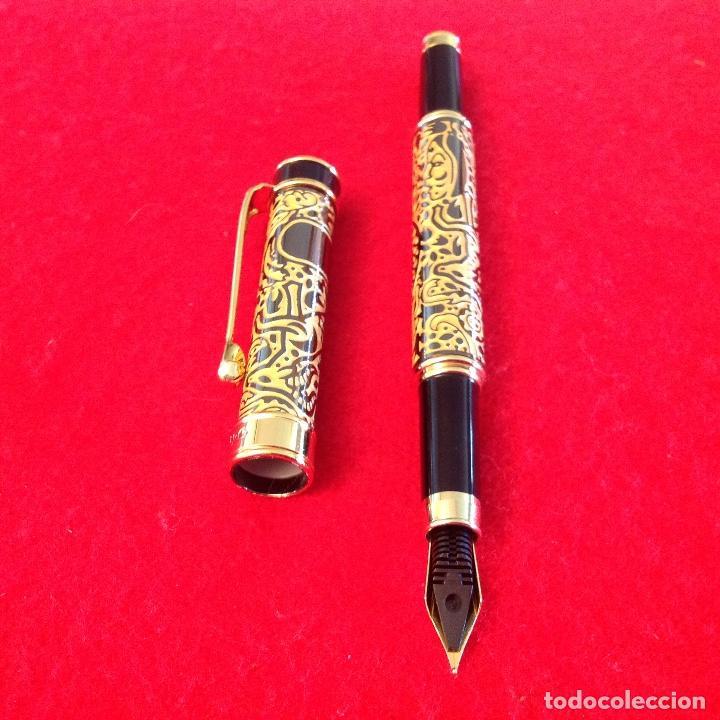 Plumas estilográficas antiguas: Pluma estilográfica Vaccaro, buen ejemplar, ver fotos, con carga. - Foto 7 - 202739577