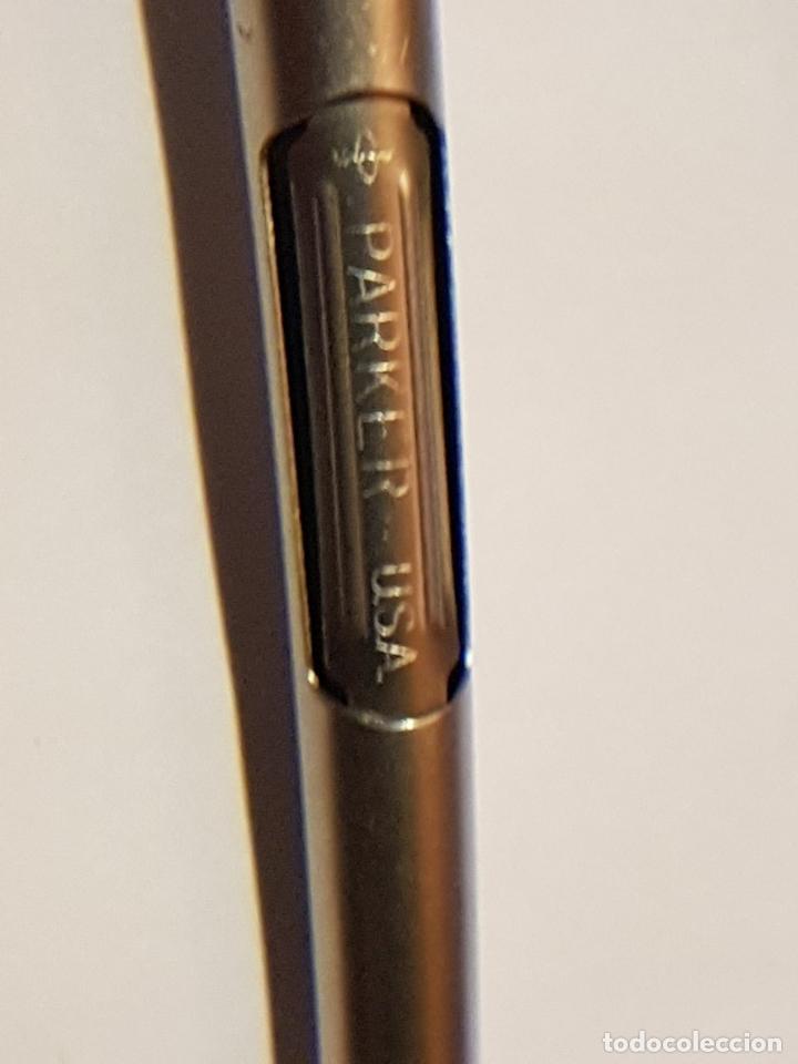 Plumas estilográficas antiguas: Pluma Estilografica PARKER 45 - Origen USA - Acerada - Excelente condicion - Foto 5 - 121351443