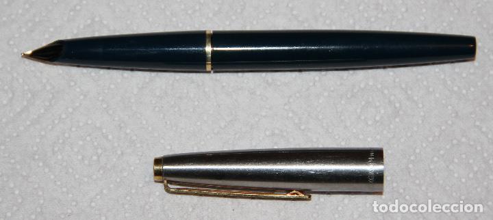 Plumas estilográficas antiguas: INOXCROM 77 CON PLUMIN 88 ORO - Foto 5 - 123046095