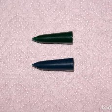 Plumas estilográficas antiguas: 2 BOQUILLAS RECAMBIO PLUMA PARKER 21. Lote 124218224