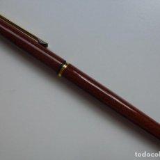 Plumas estilográficas antiguas: PLUMA ESTILOGRÁFICA MARMOLADA. INOXCROM SPAIN.. Lote 124423667
