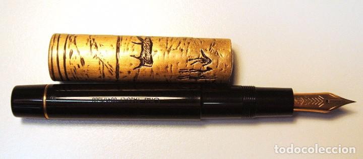 Plumas estilográficas antiguas: PLUMA ESTILOGRÁFICA OMAS TASSILI Sahara Prehistoris Painting ,EDICION LIMITADA 0641/1500, NUEVA * - Foto 4 - 126451231