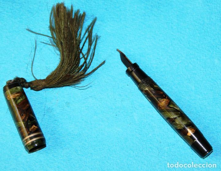 Plumas estilográficas antiguas: ANTIGUA PLUMA ESTILOGRAFICA APRILIA - Foto 3 - 128348579