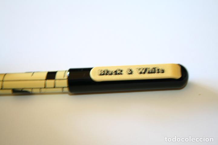 Plumas estilográficas antiguas: Pluma estilográfica black & white rara - Foto 5 - 128621467