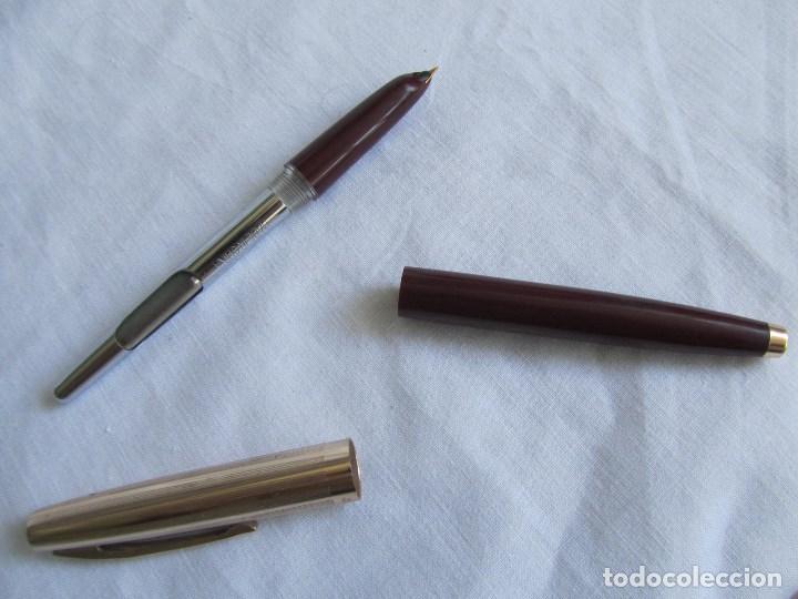 Plumas estilográficas antiguas: Pluma estilográfica Rainbow 232 Color granate - Foto 14 - 128805167