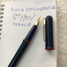 Plumas estilográficas antiguas: PLUMA ESTILOGRÁFICA STYPEN FRANCE. Lote 131981051