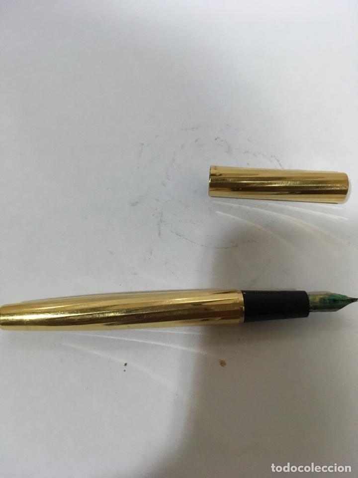 PLUMA WATERMAN CHAPADO ORO PLUMIN ORO 750 (Plumas Estilográficas, Bolígrafos y Plumillas - Plumas)